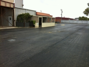 An example of a commercial car park done by Purcell's Earthmoving SOR Perth
